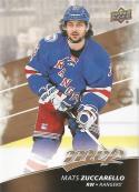 2017-18 Upper Deck MVP #188 Mats Zuccarello New York Rangers