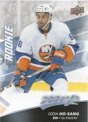 2017-18 Upper Deck MVP #245 Josh Ho-Sang RC Rookie SP New York Islanders