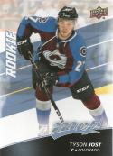 2017-18 Upper Deck MVP #250 Tyson Jost RC Rookie SP Colorado Avalanche