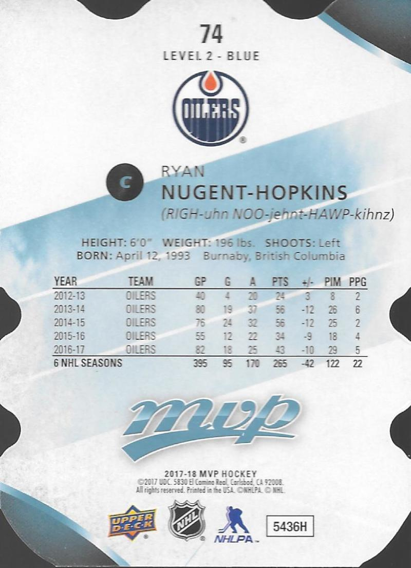2017-18-Upper-Deck-MVP-Colors-and-Contours-Level-1-2-3-Pick-Your-Cards-Make-Lot thumbnail 29