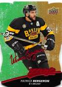 2017-18 Upper Deck MVP Colors and Contours #2 Patrice Bergeron Bruins L1 Gold