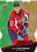 2017-18 Upper Deck MVP Colors and Contours #38 Kevin Shattenkirk Capitals L3 Gold