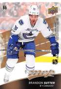 2017-18 Upper Deck MVP Puzzle Back #66 Brandon Sutter Vancouver Canucks