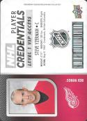 2017-18 Upper Deck MVP NHL Player Credentials Level 1 VIP Access #NHL-SY Steve Yzerman Detroit Red W