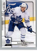 2017-18 O-Pee-Chee #1 Auston Matthews Toronto Maple Leafs