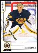 2017-18 O-Pee-Chee #181 Tuukka Rask Boston Bruins