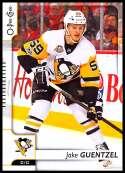 2017-18 O-Pee-Chee #338 Jake Guentzel Pittsburgh Penguins
