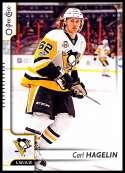 2017-18 O-Pee-Chee #368 Carl Hagelin Pittsburgh Penguins