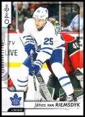 2017-18 O-Pee-Chee #469 James van Riemsdyk Toronto Maple Leafs