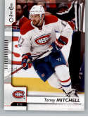 2017-18 O-Pee-Chee #483 Torrey Mitchell Montreal Canadiens