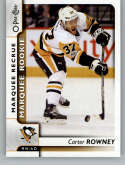 2017-18 O-Pee-Chee #508 Carter Rowney RC Rookie SP Pittsburgh Penguins Marquee Rookie