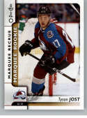 2017-18 O-Pee-Chee #533 Tyson Jost RC Rookie SP Colorado Avalanche Marquee Rookie