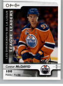 2017-18 O-Pee-Chee #591 Connor McDavid SP Edmonton Oilers Points
