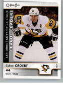 2017-18 O-Pee-Chee #593 Sidney Crosby SP Pittsburgh Penguins Goals