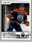 2017-18 O-Pee-Chee #599 Connor McDavid Assists NM-MT SP