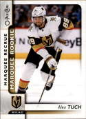 2017-18 O-Pee-Chee #650 Alex Tuch Vegas Golden Knights