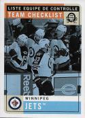 2017-18 O-Pee-Chee Retro #590 Winnipeg Jets Winnipeg Jets