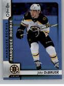 2017-18 O-Pee-Chee Rainbow Foil #616 Jake DeBrusk Boston Bruins
