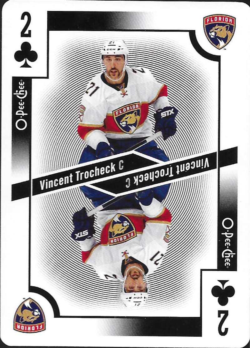 2017-18 O-Pee-Chee  Playing Cards