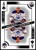 2017-18 O-Pee-Chee Playing Cards #A-CLUBS Connor McDavid NM-MT SP Oilers