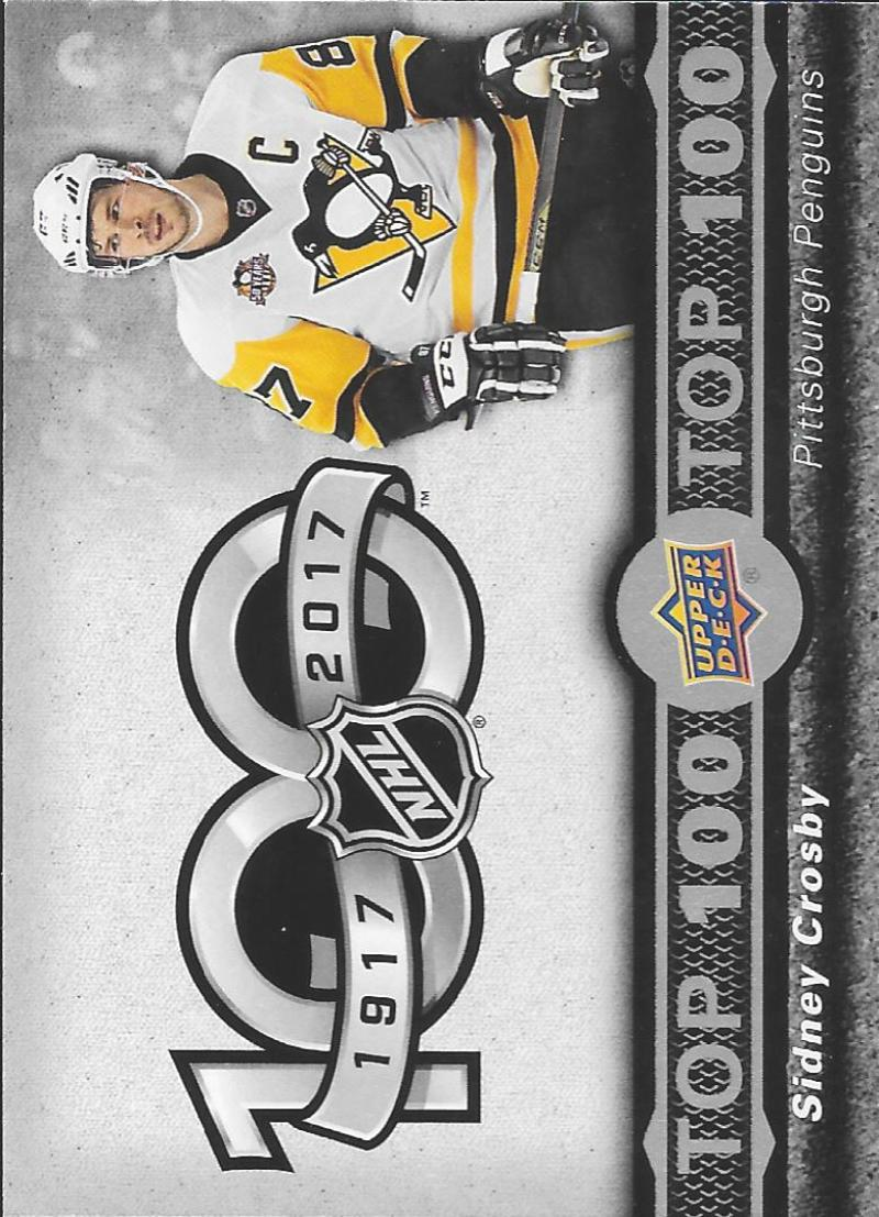 2017-18 Upper Deck Tim Hortons Top 100