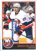 2017-18 Panini Stickers #134 Brock Nelson New York Islanders