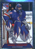 2017-18 Panini Stickers #137 Henrik Lundqvist New York Rangers
