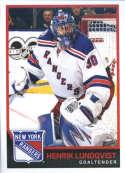 2017-18 Panini Stickers #141 Henrik Lundqvist New York Rangers