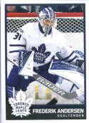 2017-18 Panini Stickers #211 Frederik Andersen Toronto Maple Leafs