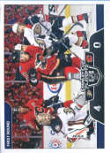 2017-18 Panini Stickers #481 Anaheim Ducks vs. Calgary Flames Stanley Cup Playoffs Match Ups
