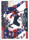2017-18 Panini Stickers #487 Ottawa Senators vs. New York Rangers Stanley Cup Playoffs Match Ups