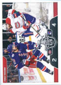 2017-18 Panini Stickers #489 Montreal Canadiens vs. New York Rangers Stanley Cup Playoffs Match Ups
