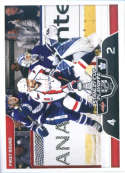 2017-18 Panini Stickers #491 Washington Capitals vs. Toronto Maple Leafs Stanley Cup Playoffs Match