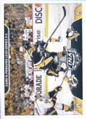 2017-18 Panini Stickers #497 Stanley Cup Finals Game 5 Penguins 3-2