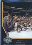 2017-18 Panini Stickers #504 Left Side Pittsburgh Penguins Team Photo