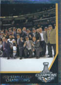 2017-18 Panini Stickers #505 Right Side Pittsburgh Penguins Team Photo
