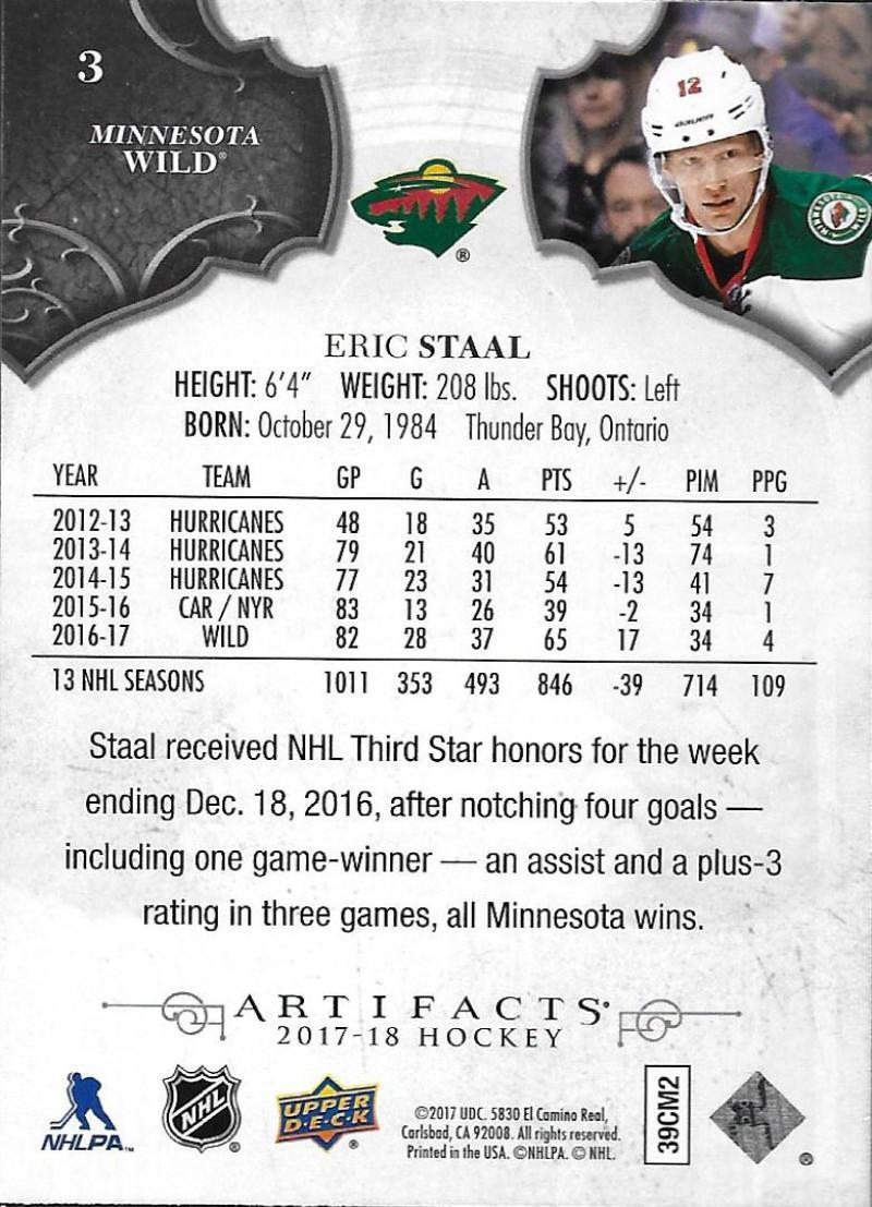2017-18-Upper-Deck-Artifacts-Hockey-Base-Set-Cards-Choose-Card-039-s-1-100 thumbnail 7