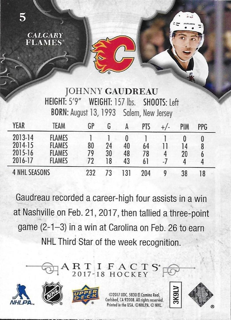 2017-18-Upper-Deck-Artifacts-Hockey-Base-Set-Cards-Choose-Card-039-s-1-100 thumbnail 11