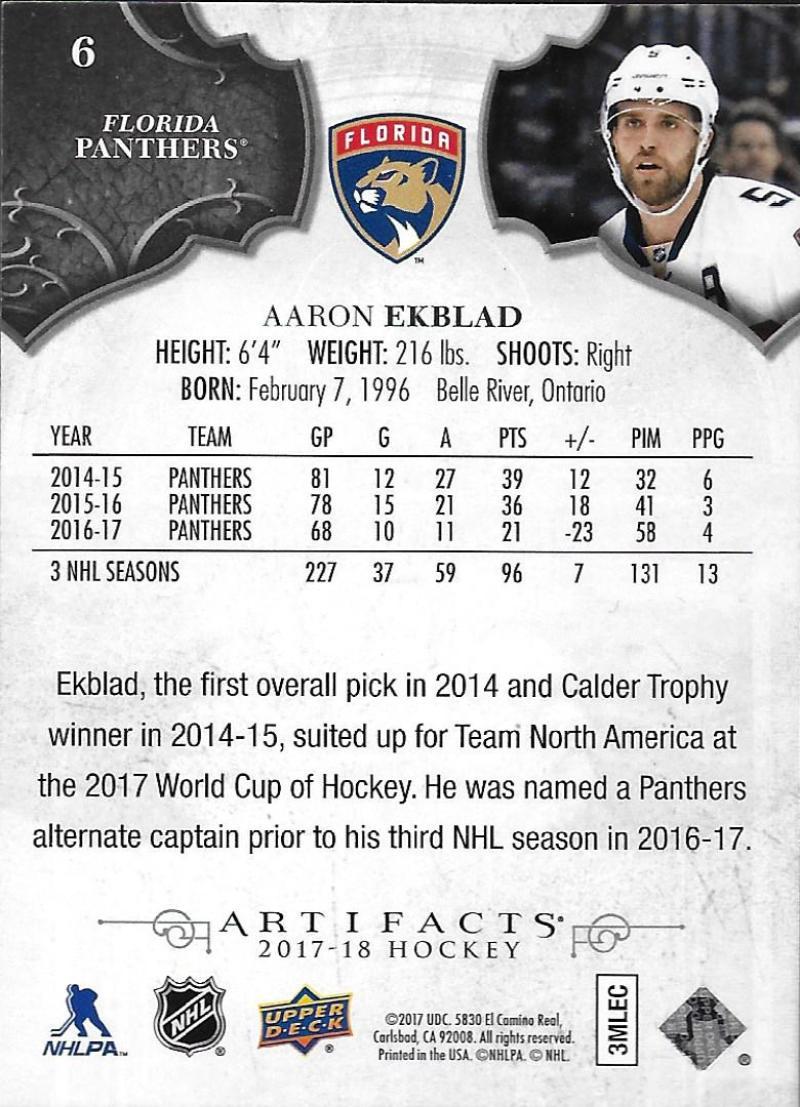 2017-18-Upper-Deck-Artifacts-Hockey-Base-Set-Cards-Choose-Card-039-s-1-100 thumbnail 13