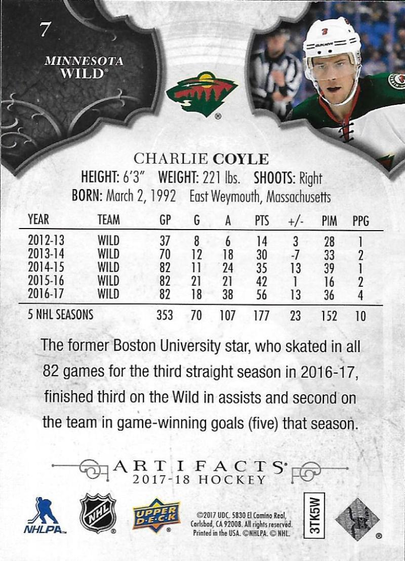 2017-18-Upper-Deck-Artifacts-Hockey-Base-Set-Cards-Choose-Card-039-s-1-100 thumbnail 15