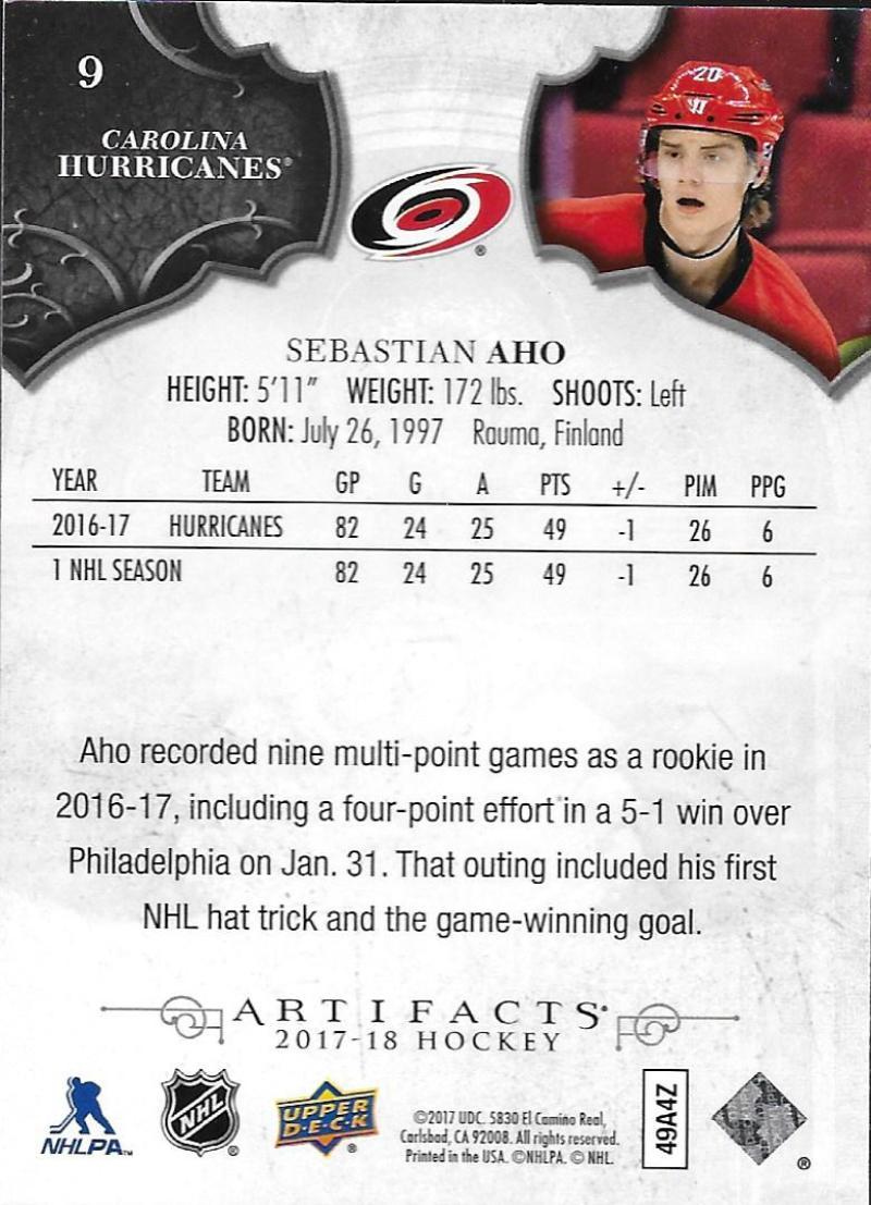 2017-18-Upper-Deck-Artifacts-Hockey-Base-Set-Cards-Choose-Card-039-s-1-100 thumbnail 17