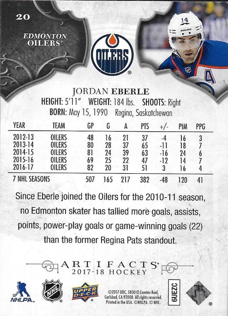 2017-18-Upper-Deck-Artifacts-Hockey-Base-Set-Cards-Choose-Card-039-s-1-100 thumbnail 36