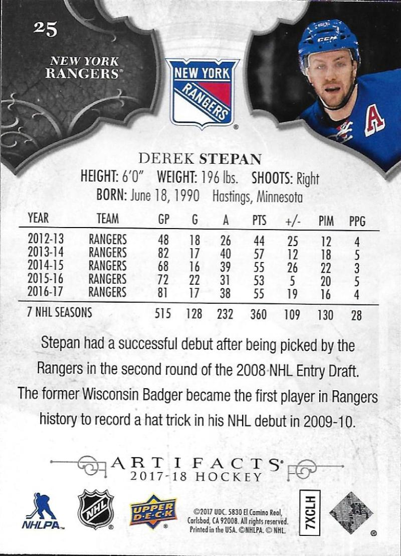 2017-18-Upper-Deck-Artifacts-Hockey-Base-Set-Cards-Choose-Card-039-s-1-100 thumbnail 44
