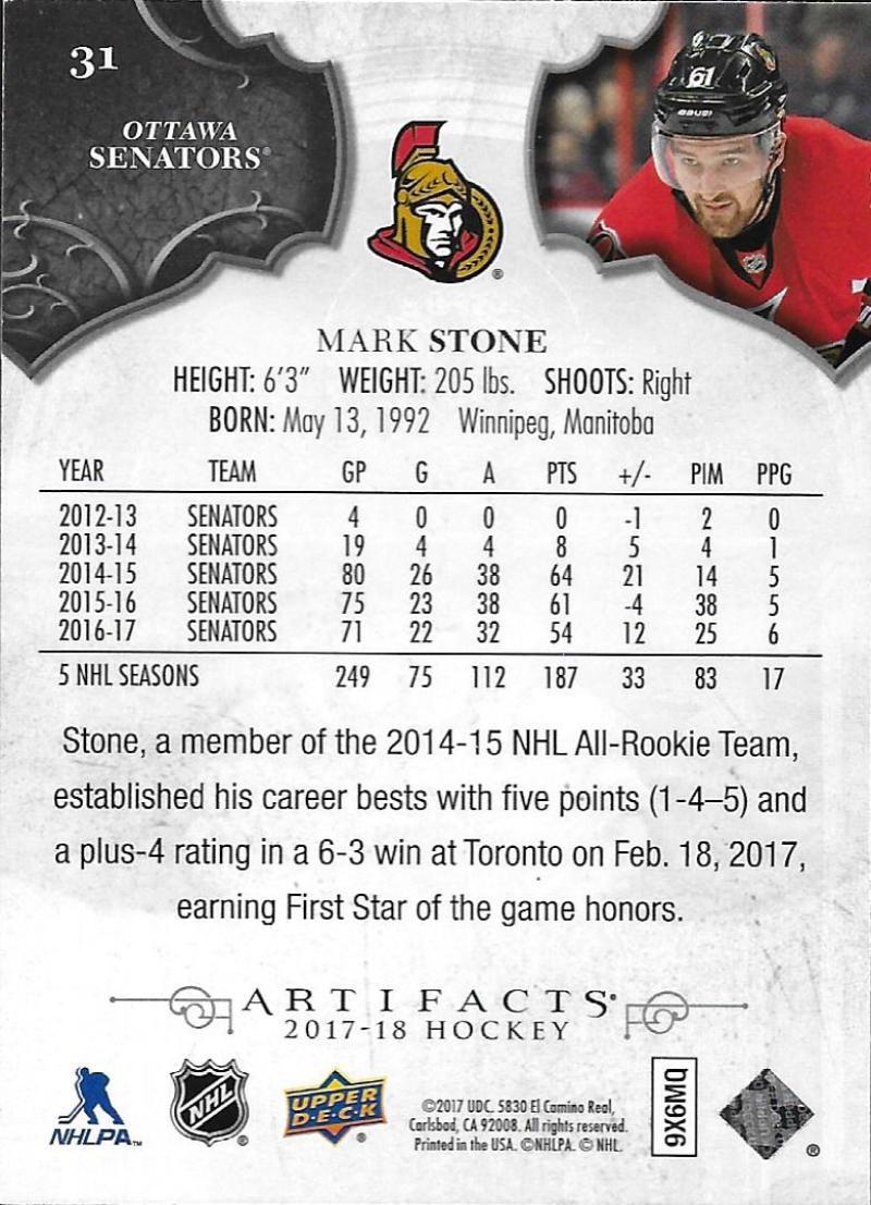 2017-18-Upper-Deck-Artifacts-Hockey-Base-Set-Cards-Choose-Card-039-s-1-100 thumbnail 56