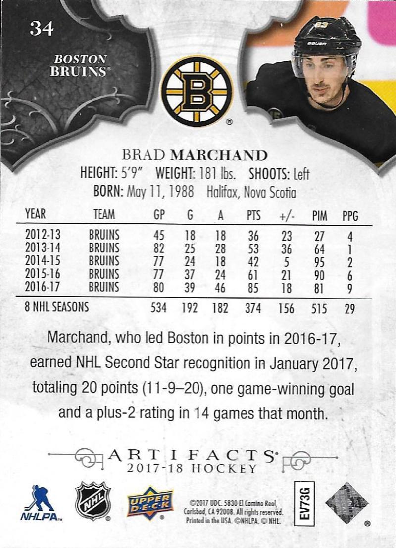 2017-18-Upper-Deck-Artifacts-Hockey-Base-Set-Cards-Choose-Card-039-s-1-100 thumbnail 62