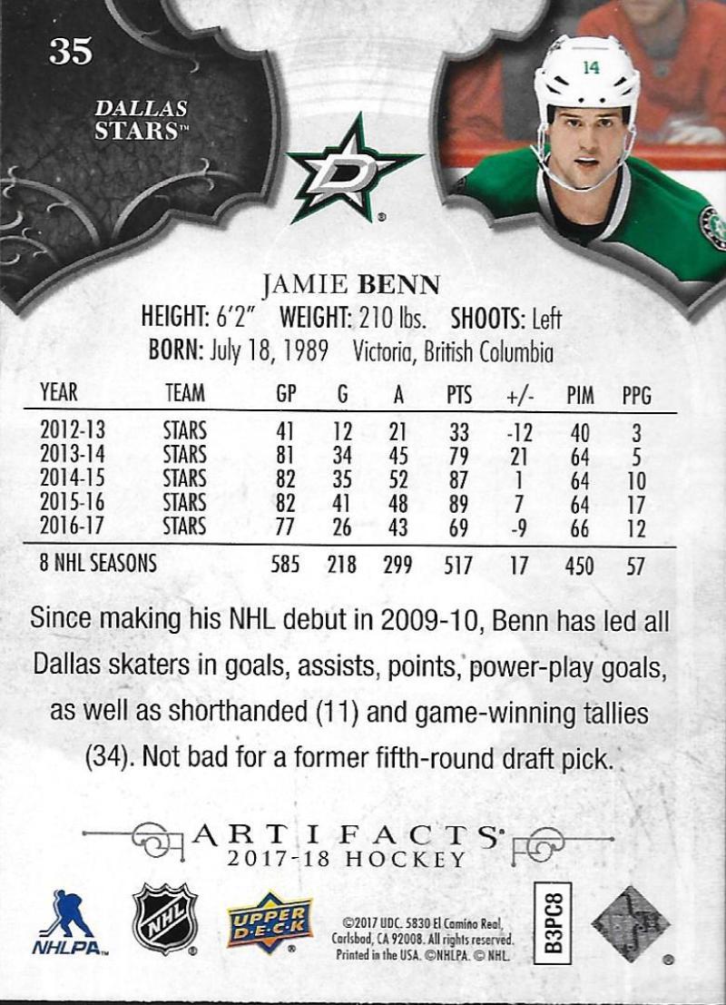 2017-18-Upper-Deck-Artifacts-Hockey-Base-Set-Cards-Choose-Card-039-s-1-100 thumbnail 64