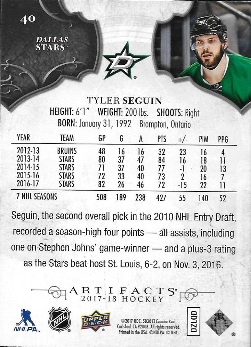 2017-18-Upper-Deck-Artifacts-Hockey-Base-Set-Cards-Choose-Card-039-s-1-100 thumbnail 74