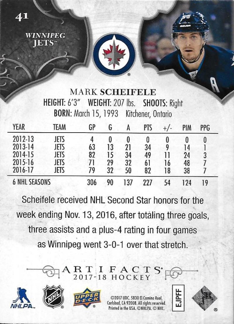 2017-18-Upper-Deck-Artifacts-Hockey-Base-Set-Cards-Choose-Card-039-s-1-100 thumbnail 76