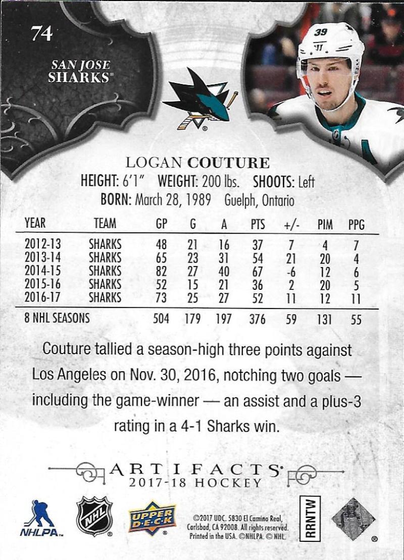 2017-18-Upper-Deck-Artifacts-Hockey-Base-Set-Cards-Choose-Card-039-s-1-100 thumbnail 134