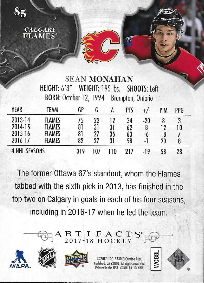 2017-18-Upper-Deck-Artifacts-Hockey-Base-Set-Cards-Choose-Card-039-s-1-100 thumbnail 156